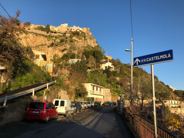 Road to Castelmola