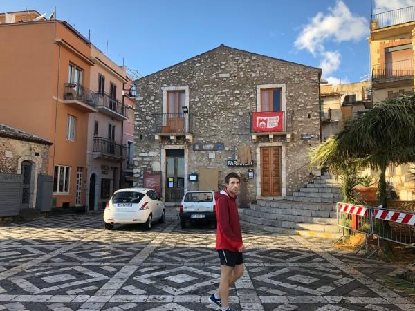 Piazza Sant' Antonio ~ Castelmola, Sicily
