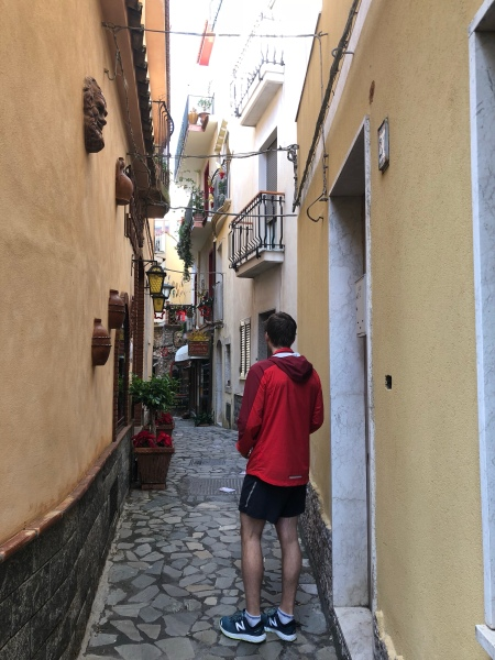 Narrow alleys of Castelmola