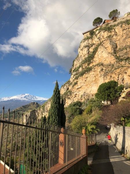 Descending from Castelmola