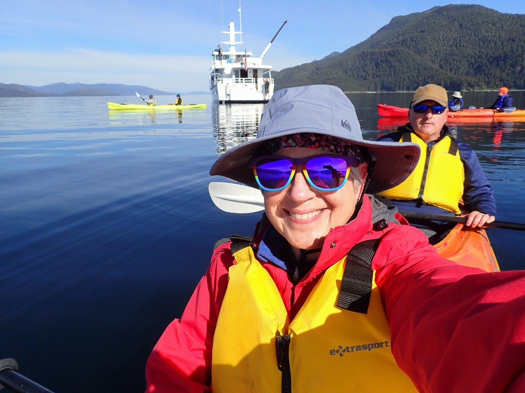 Kayaking in the Peril Strait with Alaskan Dream's Misty Fjord
