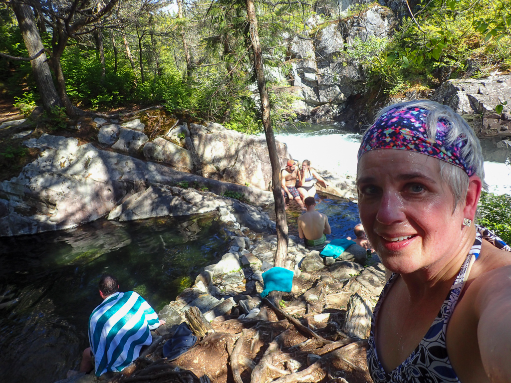 Enjoying the Baranof Warm Springs