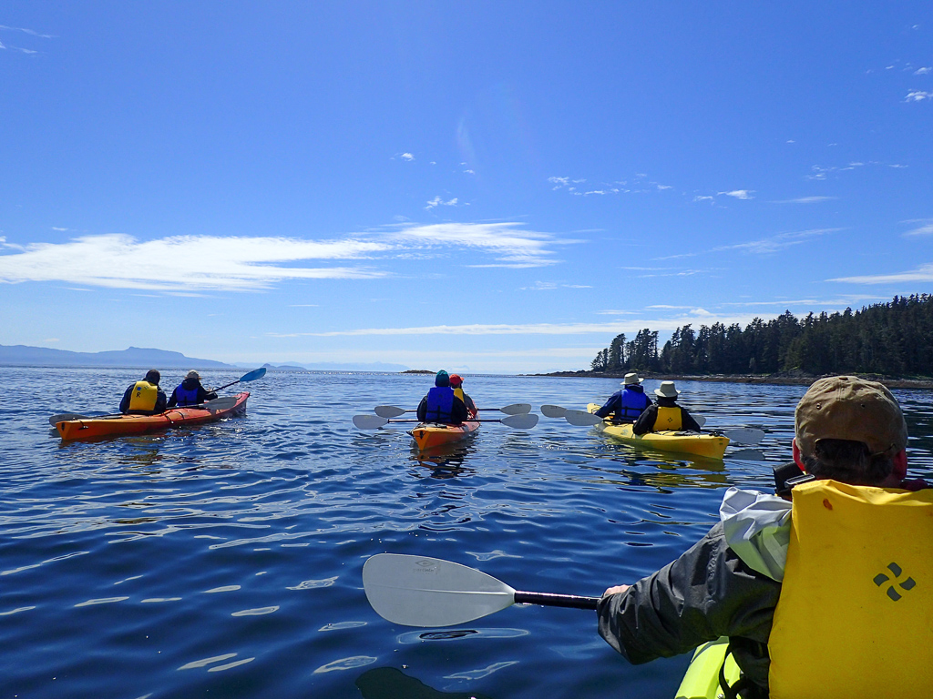 Kayaking in Alaska's Frederick Sound