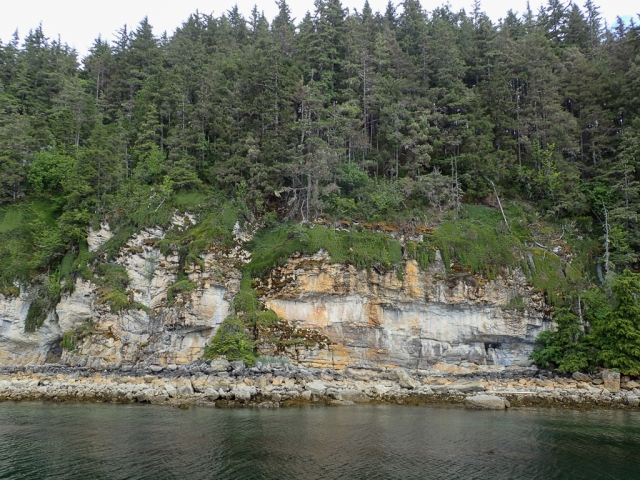 Hidden gem on the sandstone cliffs of the Inside Passage