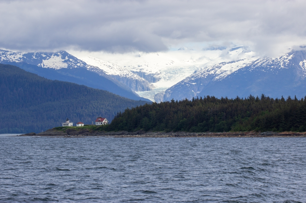 Point Retreat Lighthouse and Herbert Glacier